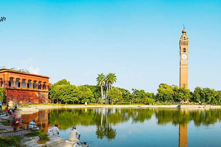 Husainabad Clock Tower